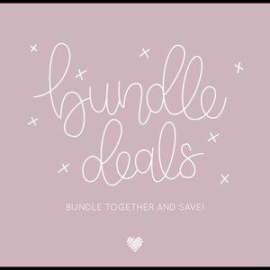 Bundled deals!! Not for Sale